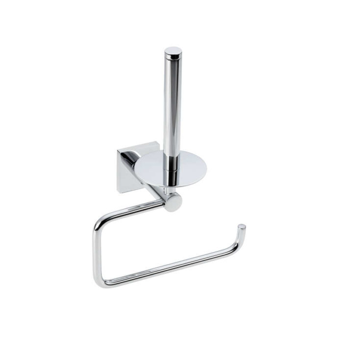 delta spare toilet roll holder for two items